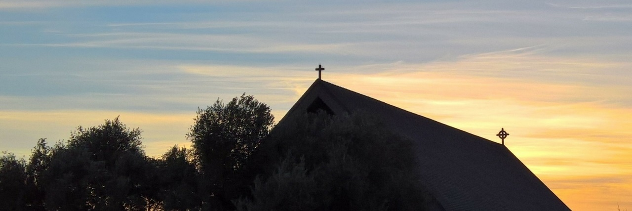 churchsunset